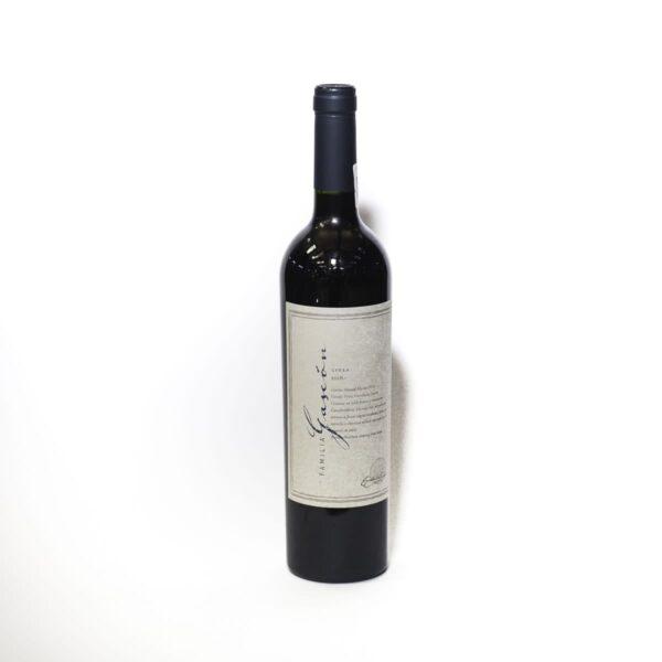 Vino Tinto Familia Gascon Syrah 750 ml.
