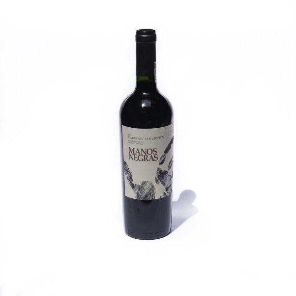 Vino Tinto Manos Negras Cabernet Sauvignon 750 ml.