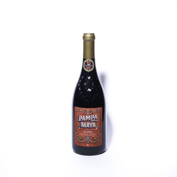 Vino tinto Pampa Maya blend 750 ml.