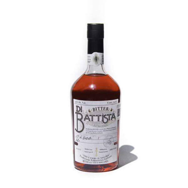 Bitter Di Battista de elaboración tradicional en Piamonte