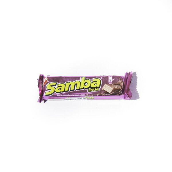 Chocolate Samba sabor fresa