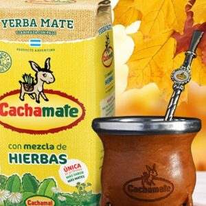 Yerba mate Cachamate Amarilla 500gr