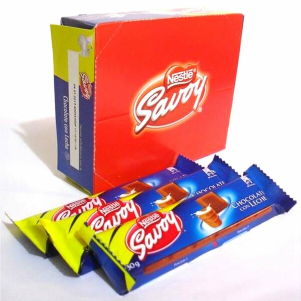 Chocolate con leche - Nestlé Savoy 30gr.