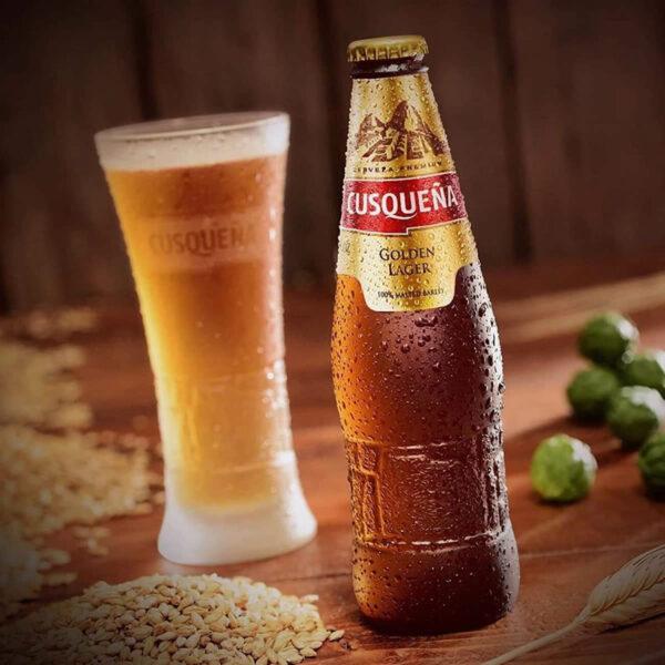 Cerveza Cusqueña Golden Lager